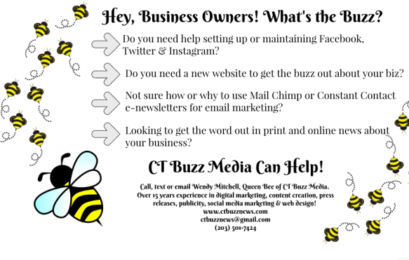 Who & What is 'CT Buzz News' and How Can I Share My Business